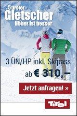 Skurlaub auf den 5 Tiroler gletschern