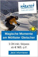 Skiwellness am Mölltaler Gletscher